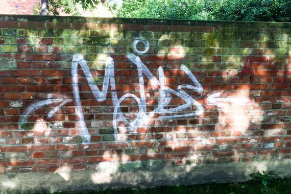 Graffitientfernung nachher