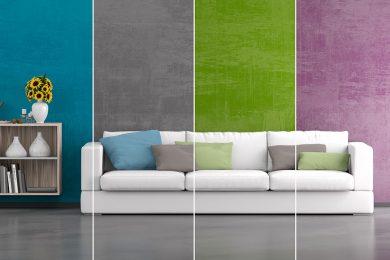 Individuelle Farbgestaltung