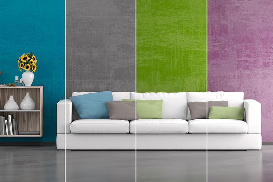 Individuelle Farbgestaltung Wohnraum