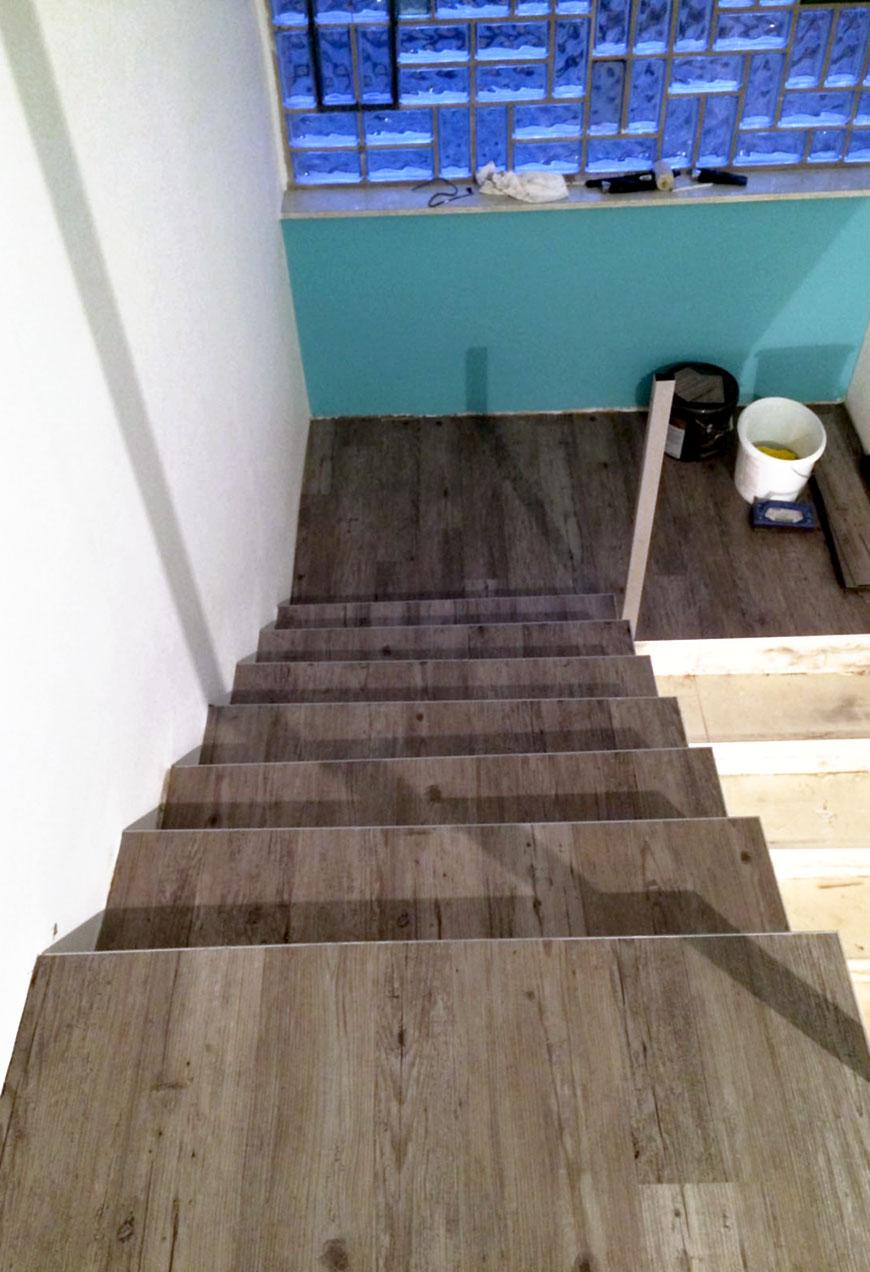 Treppensanierung von oben